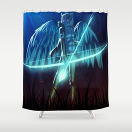 Luc Ready for Battle Shower Curtain