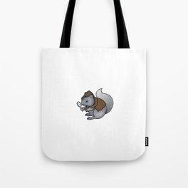 Squirrel-lock Holmes Tote Bag