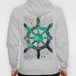 The Captains Wheel Hoody