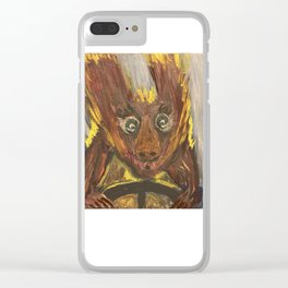 Speed Demon Clear iPhone Case