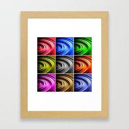 Pop Spin Framed Art Print