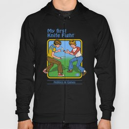 MY FIRST KNIFE FIGHT Hoody