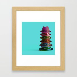 Hat Mountain Framed Art Print