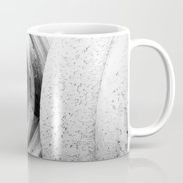 Soft lines, hard surface Coffee Mug