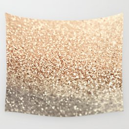 GOLD GOLD GOLD Wall Tapestry