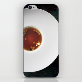 The Art of Food Gold Leaf Beef Tea iPhone Skin