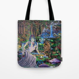 The Fountain loss Tote Bag