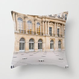 Palais Royal IV Throw Pillow