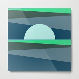 Abstract Sunset 11 Metal Print