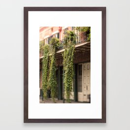 Down in the Quarter Framed Art Print