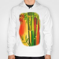 bamboo Hoodies featuring Bamboo by OLHADARCHUK    ART