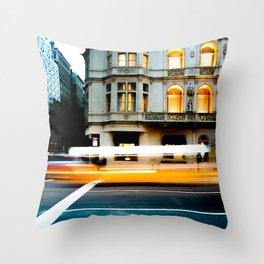 New York Taaaaaaaaxi!!! Throw Pillow