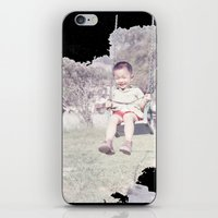 dad iPhone & iPod Skins featuring Dad by Hector Wong