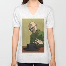 Walter White Heisenberg Unisex V-Neck