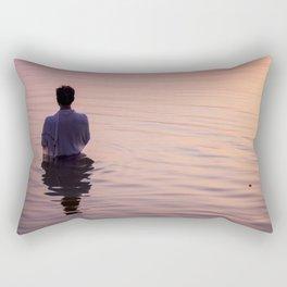 Meditation Time Rectangular Pillow