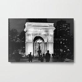 WSQ Arch Illuminated Metal Print