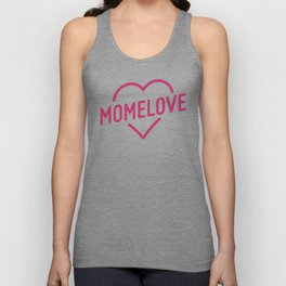 Pink Mome Love Unisex Tank Top