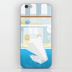 ORIGAMI CATAMARAN iPhone & iPod Skin