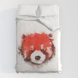 Red Panda (White) Comforters