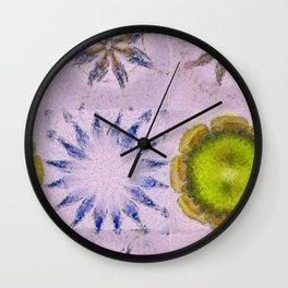 Minimizer Fabric Flowers  ID:16165-003908-98470 Wall Clock