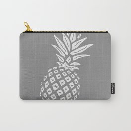 Grey Pineapple Paradise Carry-All Pouch