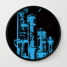 Factory Jump Wall Clock