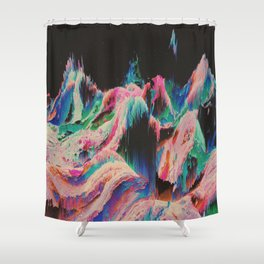 dštsżnê Shower Curtain