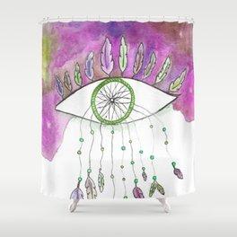 Endless Skies-Voodoo Shower Curtain