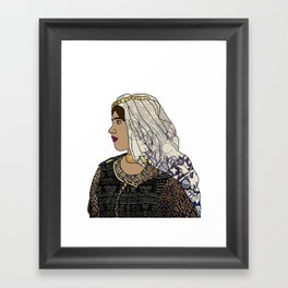 No Ban No Wall | Art Series - The Jewish Diaspora 003 Framed Art Print