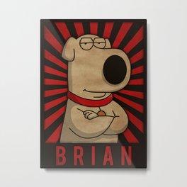 Brian Metal Print