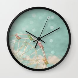Candy Wheel Wall Clock