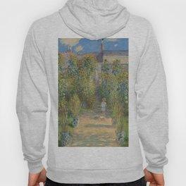 Claude Monet The Artist's Garden at Vétheuil 1880 Painting Hoody