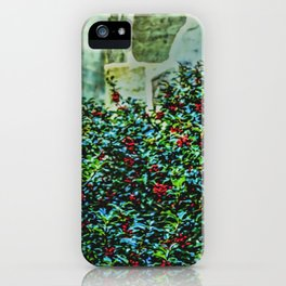 Holly Bush iPhone Case