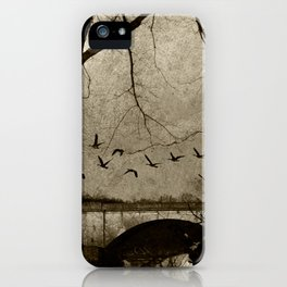 winter study iPhone Case