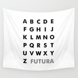 Futura Wall Tapestry