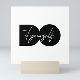 Do It Yourself Mini Art Print