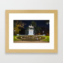 Monet's Garden - Melbourne Framed Art Print