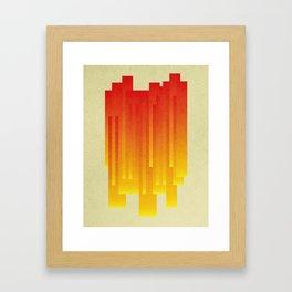Summer Drip Framed Art Print