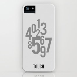 Touch - Minimalist iPhone Case