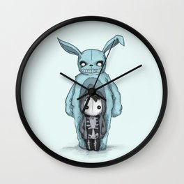 Plushie Darko Wall Clock