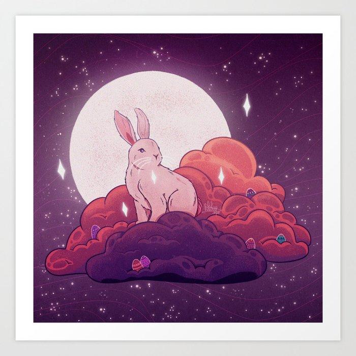 Easter Bun Art Print