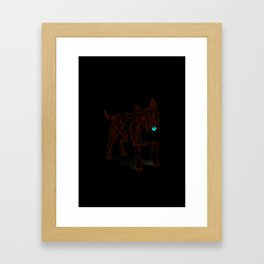 complicated character Framed Art Print