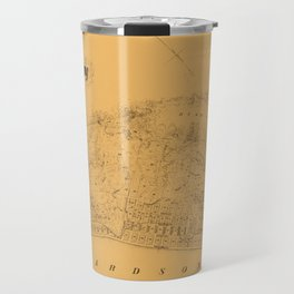 Map of Sausalito 1868 Travel Mug