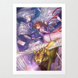 Card Captor Sakura Art Print