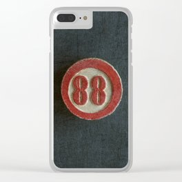 Eighty Eight Clear iPhone Case