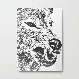 Aggressor Metal Print