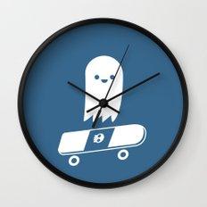 Skate Ghost Wall Clock