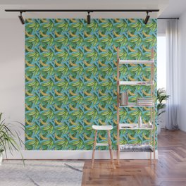 Plantain Paradise Pattern - For true plantain fans Wall Mural