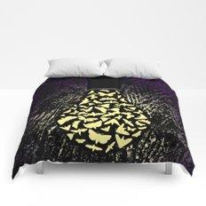 Dark Attraction Comforters