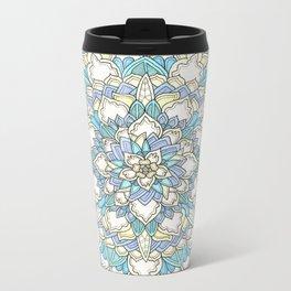Pastel Bloom Metal Travel Mug